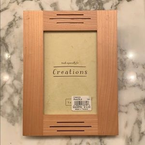 """4x6"""" Wooden Photo Frame by Creations NWT"""